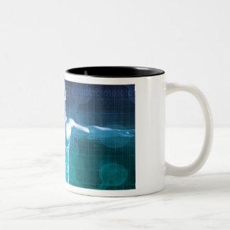 Medical Science Two-Tone Coffee Mug