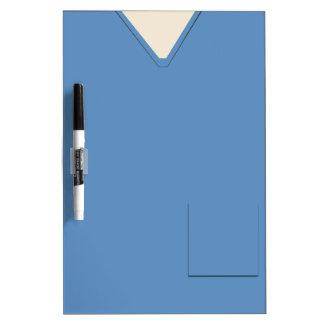 Medical Scrubs Blue Dry Erase Dry Erase Board