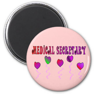 Medical Secretary Gifts 2 Inch Round Magnet