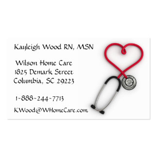 Medical Services Business Card