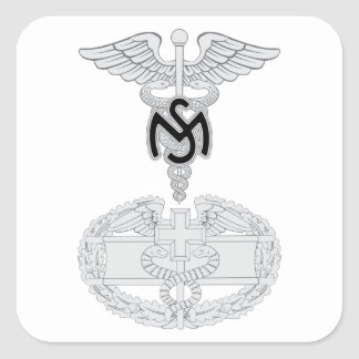 Medical Services CFMB Square Sticker