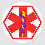 MEDICAL SIGN ID TAG STICKERS