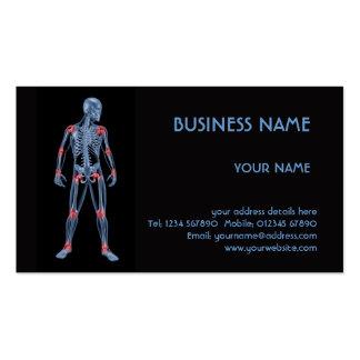 Medical Skeleton Business Card