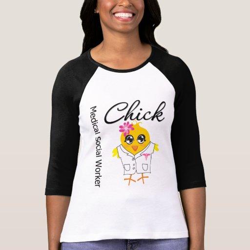 Medical Social Worker Chick Shirts