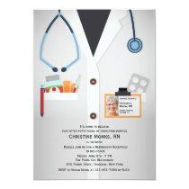 Medical Staff Photo Retirement Invitation