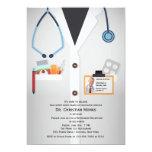 "Medical Staff Photo Retirement Invitation 5"" X 7"" Invitation Card"