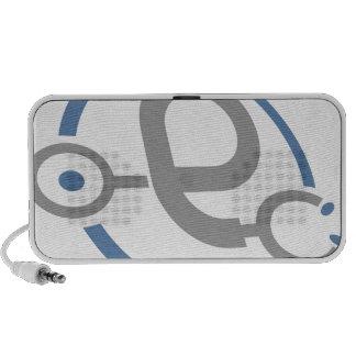 Medical Stethoscope Mp3 Speaker