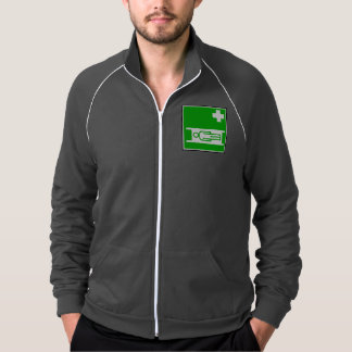 Medical Stretcher Sign Mens Jacket