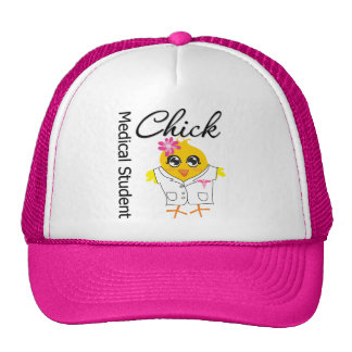 Medical Student Chick Trucker Hat