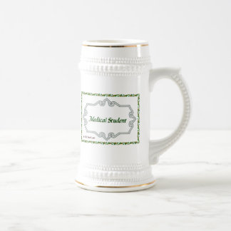 Medical Student - Classy 18 Oz Beer Stein