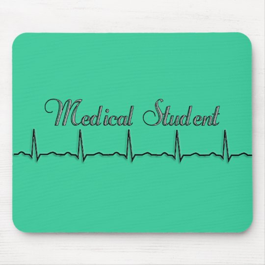 Medical Student QRS Design Gifts Mouse Pad