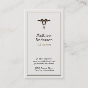 Medical Student Business Cards Zazzle