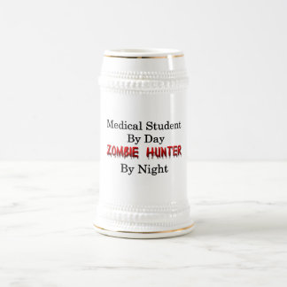Medical Student/Zombie Hunter 18 Oz Beer Stein