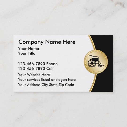 Medical Supplies Business Card