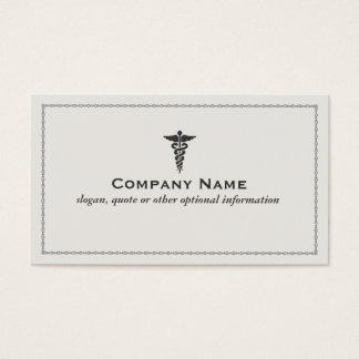 Medical Symbol Business Card