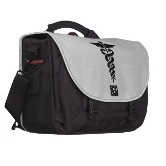 Medical Symbol Caduceus Commuter Bag
