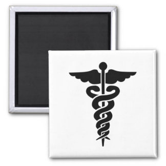 Medical Symbol Caduceus Magnet