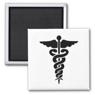 Medical Symbol Caduceus Refrigerator Magnet