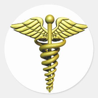 Medical Symbol Classic Round Sticker