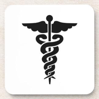 Medical Symbol Drink Coaster