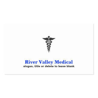 Medical Symbol Healthcare and Emergency Business Card