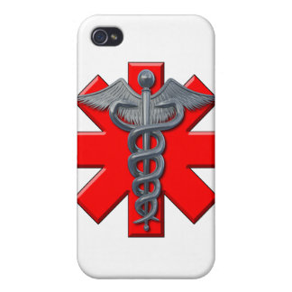 Medical Symbol Covers For iPhone 4