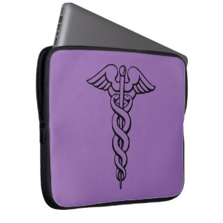 Medical Symbol Laptop Sleve Laptop Sleeve