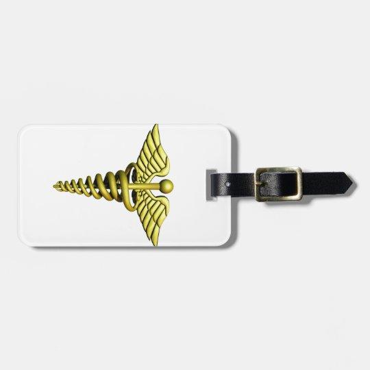 Medical Symbol Luggage Tag