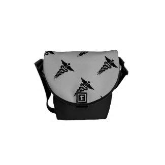 Medical Symbol Messenger Bags