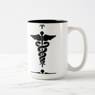 Medical Symbol Nurses Mugs
