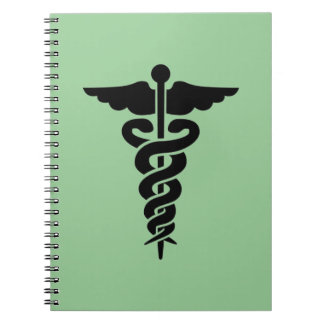 Medical Symbol Notebook