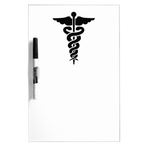 Medical Symbol Nurses and Doctors Dry Erase Boards