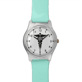 Medical Symbol Nurses and Doctors Watch