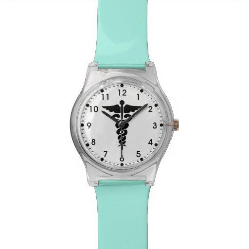 Medical Symbol Nurses and Doctors Wrist Watches