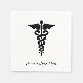 Medical Symbol Standard Cocktail Napkin