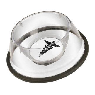 Medical Symbol Pet Bowl