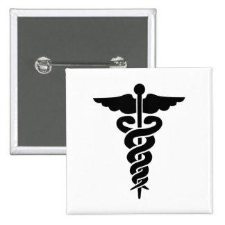 Medical Symbol Pinback Button