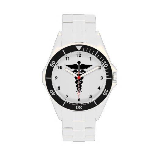 Medical Symbol Wrist Watch