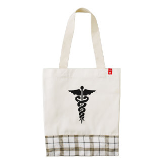 Medical Symbol Zazzle HEART Tote Bag