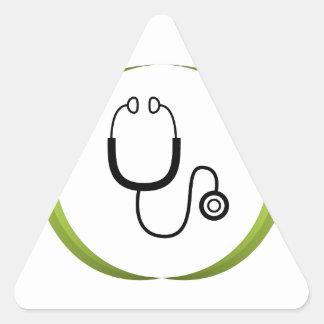 Medical Team Icon Triangle Sticker