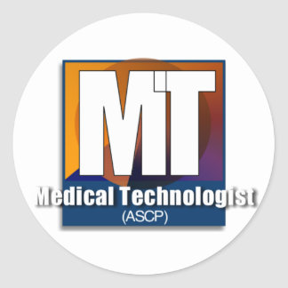 Medical Technologist (ASCP) Gifts Classic Round Sticker