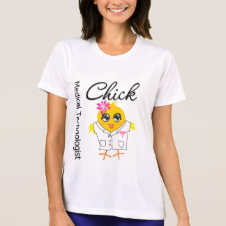 Medical Technologist Chick T-shirts