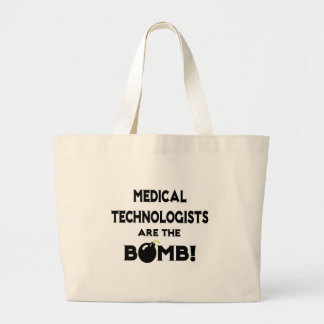 Medical Technologists Are The Bomb! Canvas Bags