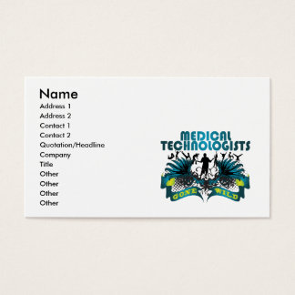 Medical Technologists Gone Wild Business Card