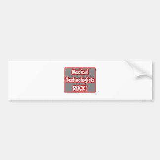 Medical Technologists Rock! Bumper Sticker