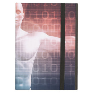 Medical Technology Software as a Background Art Cover For iPad Air