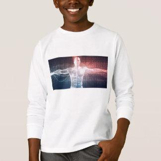 Medical Technology Software as a Background Art T-Shirt