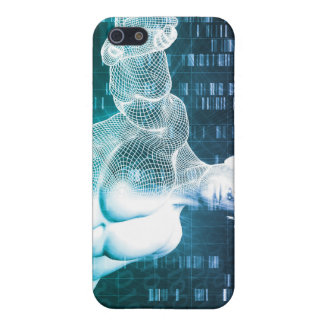 Medical Technology with Scientist Engineer on DNA iPhone SE/5/5s Case