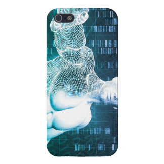 Medical Technology with Scientist Engineer on DNA iPhone SE/5/5s Cover