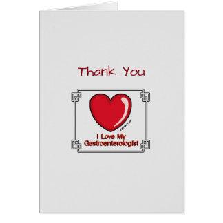 Medical Thank You Gastroenterologist Card